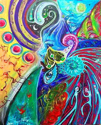Carolyn Anderson Painting - Abstract # 3 by Carolyn Anderson