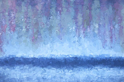 Photograph - Abstract # 3 Ocean Night Fall by Rich Franco