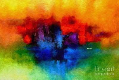 Digital Art - Abstract 004 by Rafael Salazar