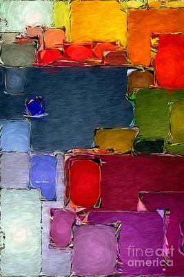 Digital Art - Abstract 005 by Rafael Salazar