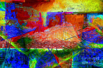 Digital Art - Abstract 0118 by Rafael Salazar