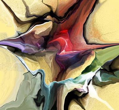 Digital Art - Abstract 011816-3 by David Lane