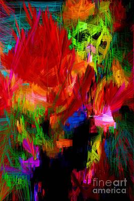 Digital Art - Abstract 0140 by Rafael Salazar