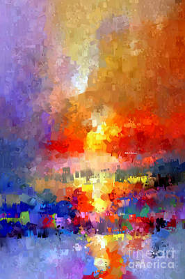Digital Art - Abstract 027 by Rafael Salazar
