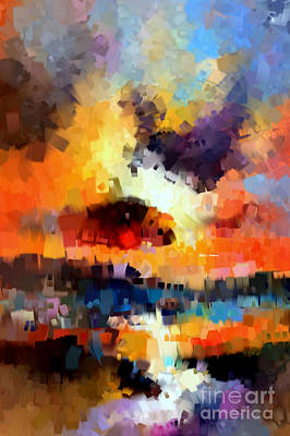 Digital Art - Abstract 030 by Rafael Salazar