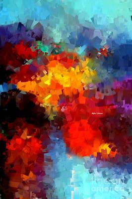 Digital Art - Abstract 034 by Rafael Salazar