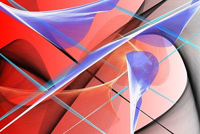 Digital Art - Abstract 0518-02 by David Lane