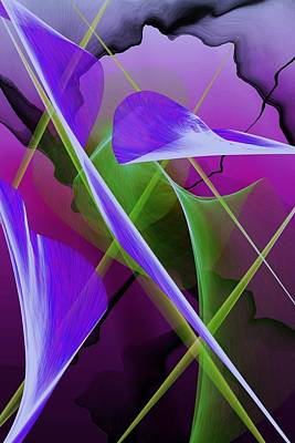 Digital Art - Abstract 0518-03 by David Lane