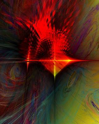 Digital Art - Abstract 053011 by David Lane