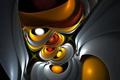 Digital Art - Abstract 061010 by David Lane