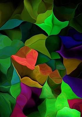 Digital Art - Abstract 063016 by David Lane