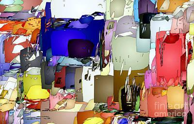 Digital Art - Abstract 0689 by Rafael Salazar