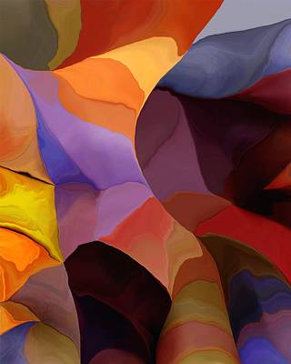 Digital Art - Abstract 071516 by David Lane