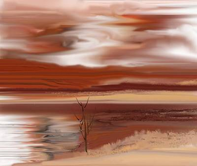 Digital Art - Abstract 080210 by David Lane
