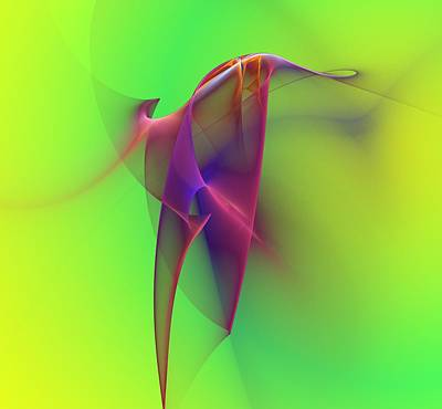 Digital Art - Abstract 091610 by David Lane