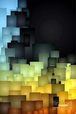 Digital Art - Abstract 0985 by Rafael Salazar