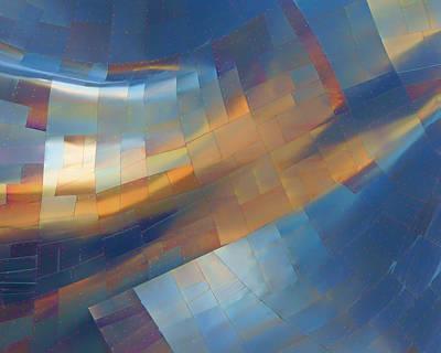 Abstract - 1 - Emp - Seattle Art Print by Nikolyn McDonald