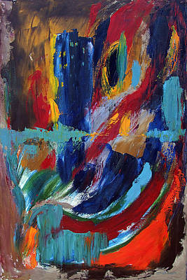 Painting - Abstract 1 by Katt Yanda