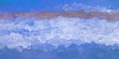 Photograph - Abstract #1 Ocean Clouds by Rich Franco