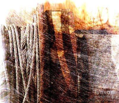 Antique Look Photograph - Abstract 1 by Susanne Van Hulst
