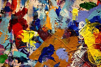 Abstract Expressionism Painting - Abstract 10 Uncropped by John  Nolan