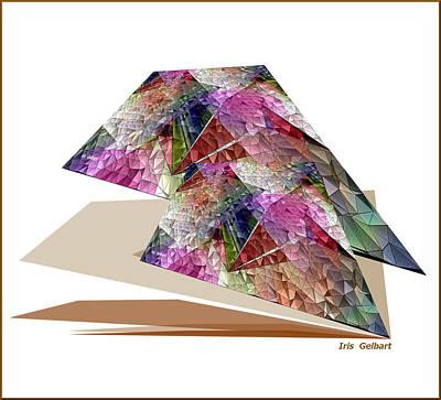 Digital Art - Abstract #100a by Iris Gelbart