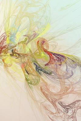 Digital Art - Abstract 101 by Olga Hamilton