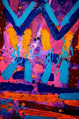 Abstract Expressionism Painting - Abstract 10316 - Cropped by John  Nolan