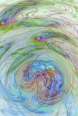 Digital Art - Abstract 105 by Olga Hamilton