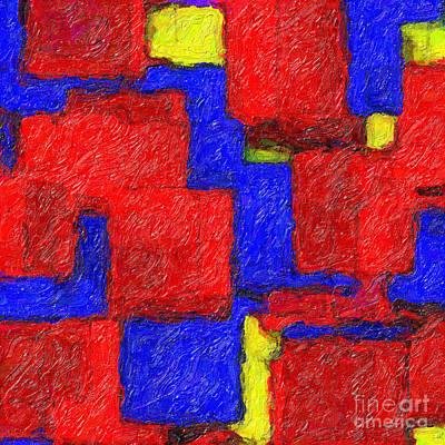 Digital Art - Abstract 108 by Ed Churchill