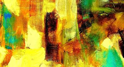 Painting - Abstract 11 Riot Of Color by VIVA Anderson