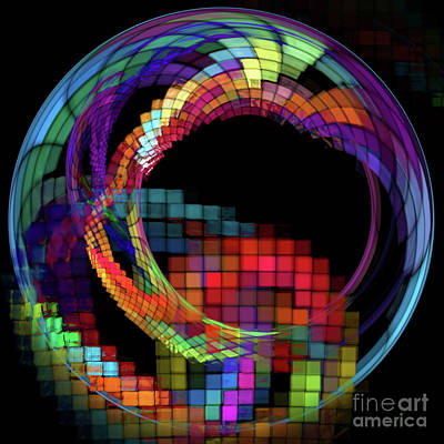 Digital Art - Abstract 115 by Olga Hamilton
