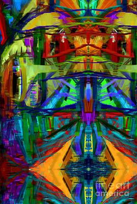 Digital Art - Abstract 1292 by Rafael Salazar