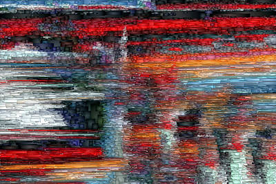 Digital Art - Abstract 1397 by Rafael Salazar