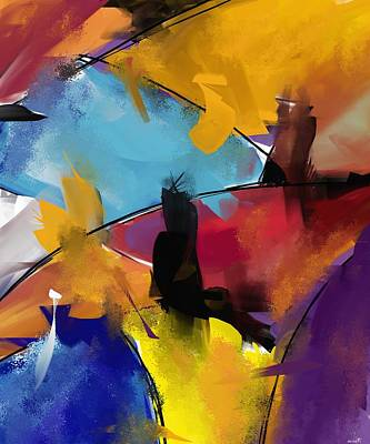 Digital Art - Abstract 1412 by Patric Mouth