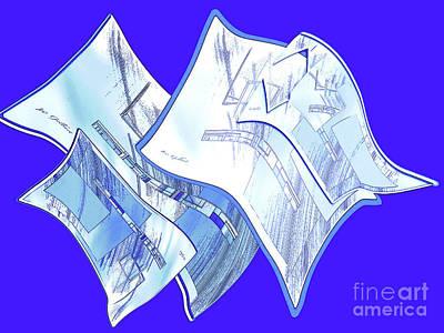 Digital Art - Abstract    144 by Iris Gelbart