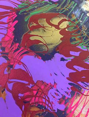 Abstract 15-uuu11 Art Print