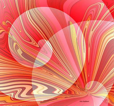 Digital Art - Abstract #157 by Iris Gelbart
