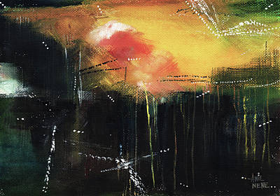 Painting - Abstract 18 by Anil Nene