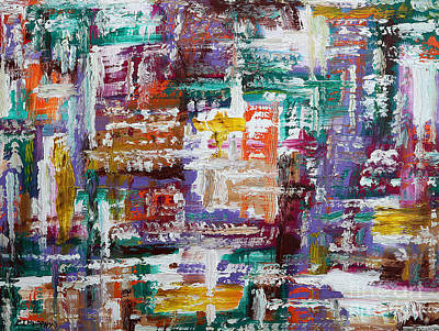 Abstract 193 Art Print by Patrick J Murphy
