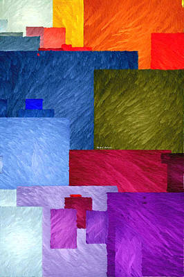 Digital Art - Abstract 1931 by Rafael Salazar