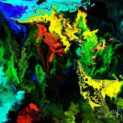 Abstract 2-23-09 Art Print by David Lane