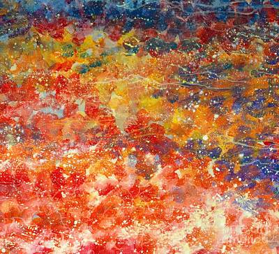 Painting - Abstract 2. by Alla Dickson