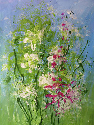 Painting - Abstract 2 by Christine MARTIN