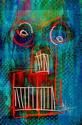 Painting - abstract 2 June6 2015 by Jim Vance