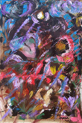 Painting - Abstract 2 by Katt Yanda