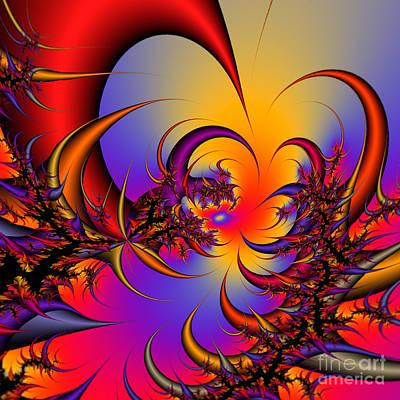 Abstract 2009041117 Art Print by Rolf Bertram