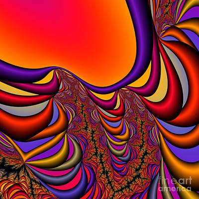 Abstract 2009041141 Art Print by Rolf Bertram