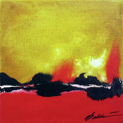 Painting - Abstract 201207 by Rick Baldwin