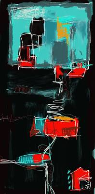 Painting - Abstract - 21nov2016 by Jim Vance